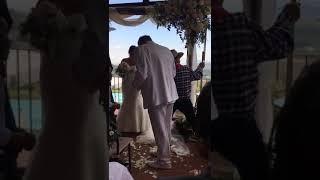 Jo Mallel  BORGO Divino   wedding Barbara et Ennsio braking the glass Mazaltov song  4th August2018