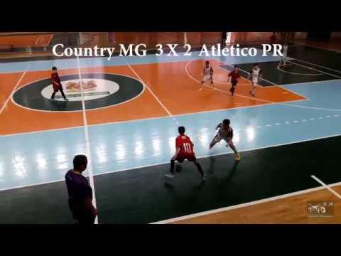 Melhores momento NFP novo futsal paraná country Maringá 6 x 3 Atlético Paranaense Cancún