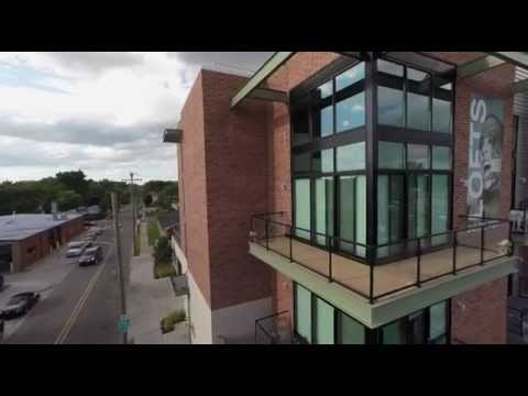 Lofts On The 9 / Ferndale Promotion - Detroit Drone Aerial Video