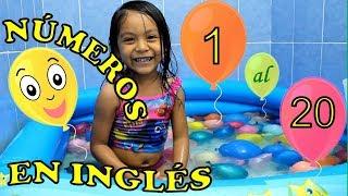 Números en ingles | del 1 al 20 para niños | Aprende Ingles