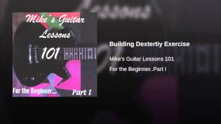 Building Dextertiy Exercise