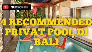 Gambar cover rekomendasi privat pool di bali murah start 500 ribuaan