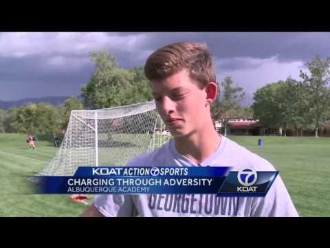 ABQ Academy Soccer Player