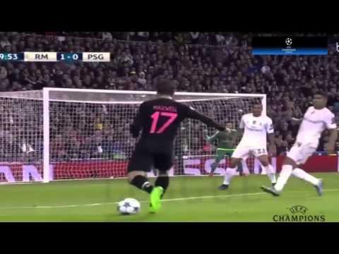 real madrid vs psg 2015 highlights 1-0