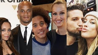 Belgium (FIFA World Cup 2018) ... and their real life partners