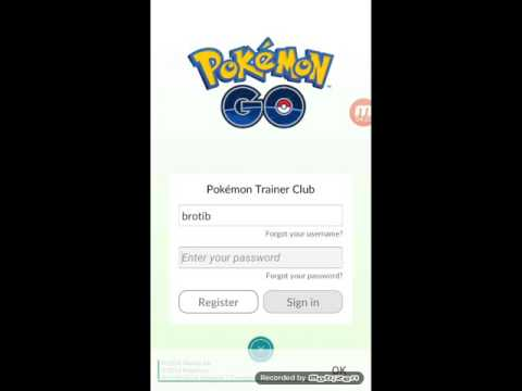 How To Make Account In Pokemon Go Trainer Club