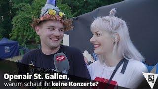 Warum Schauen Leute Am Openair St. Gallen Keine Konzerte? | Festivalsommer 2018