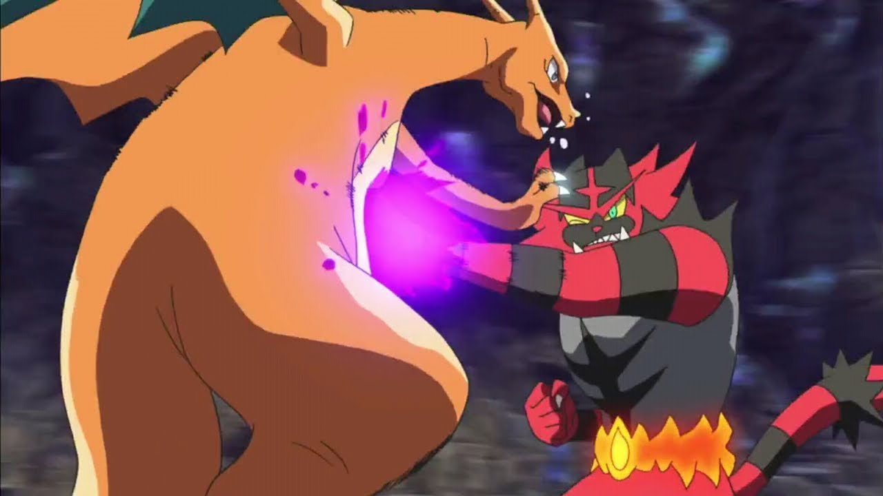 incineroar anime latin america international championship pokemon