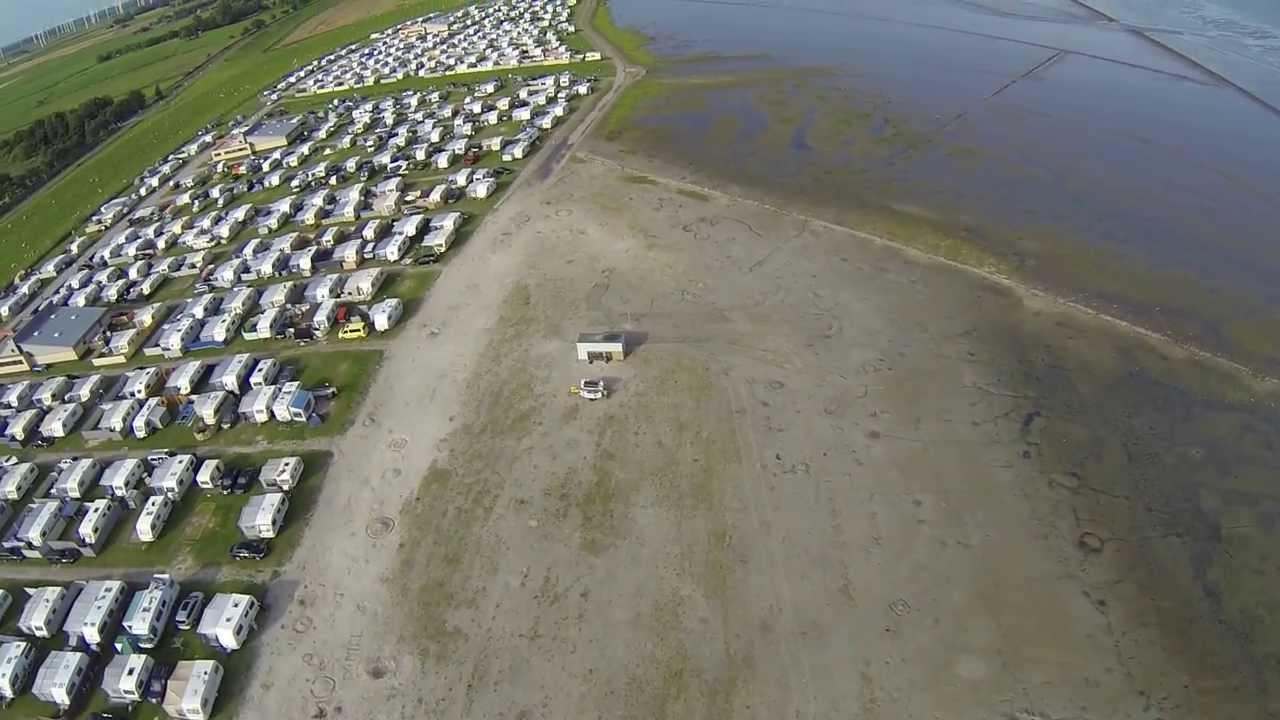 Dji Phantom 4 >> Campingplatz Bensersiel Strand DJI Phantom GoPro3 - YouTube