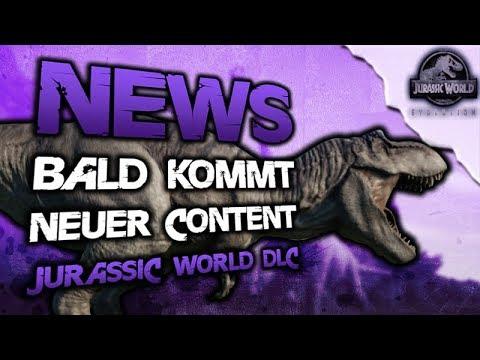 Jurassic World Evolution Deutsch - DLC NEWS Neues Update Kommt - Jurassic World Evolution Info