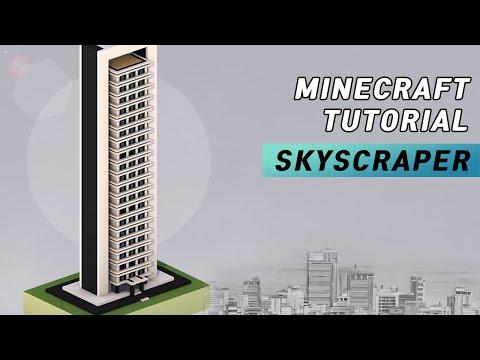 Minecraft : How To Build Skyscraper #13