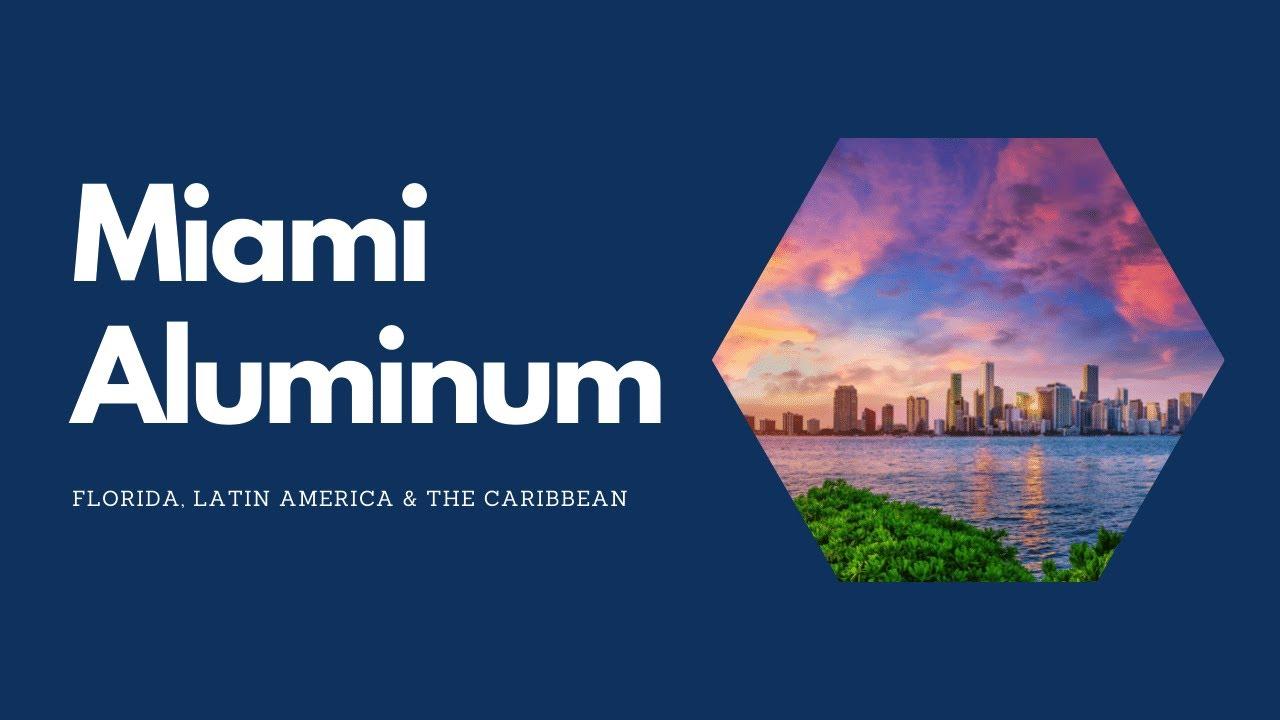 Amd Supply Miami Aluminum Supply 786 671 0700 Youtube