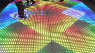 Gambar cover Interactive digital video dance floor for parties, weddings, corporate functions, bar mitzvahs