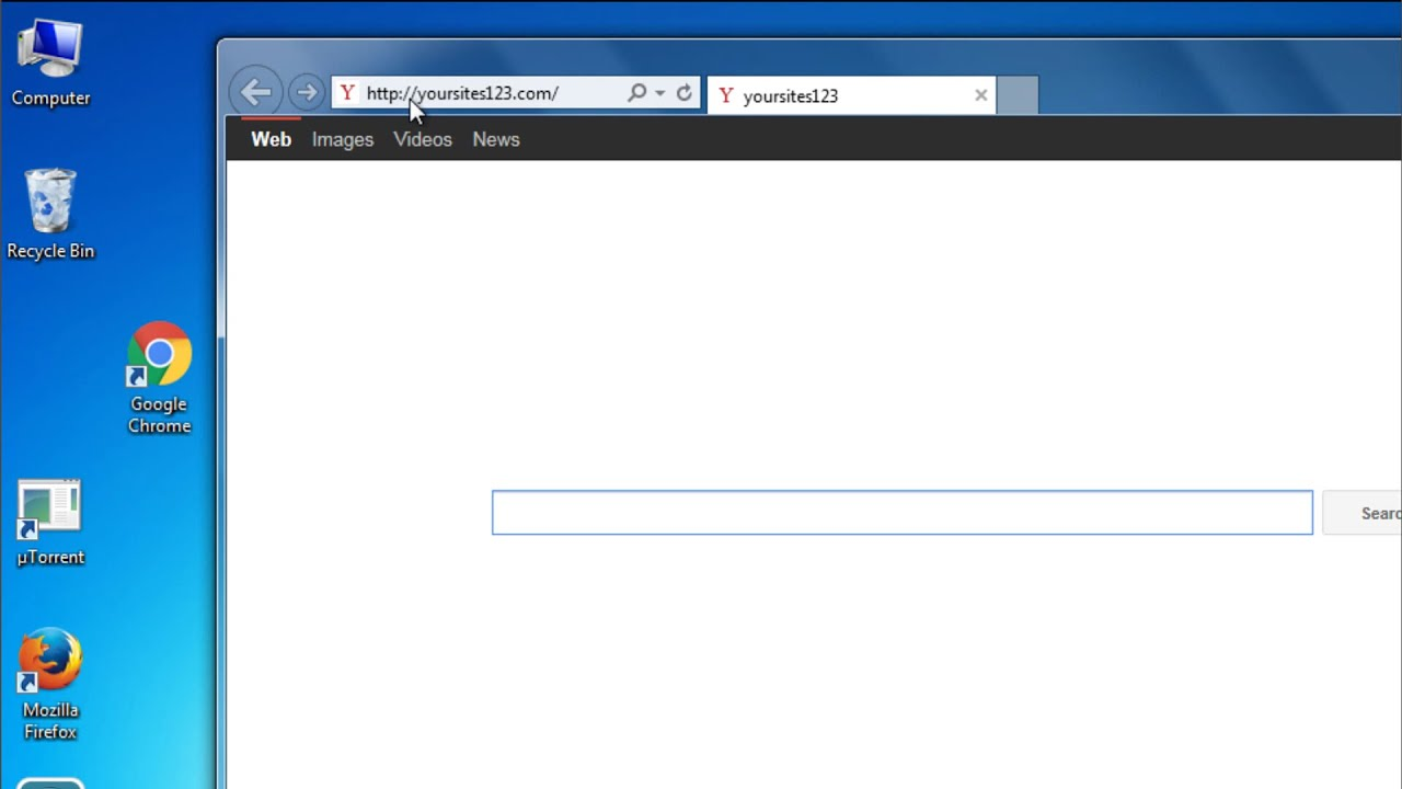 how do i remove yoursites123 com homepage from my pc free removal rh youtube com pc cast homepage pc-oc homepage