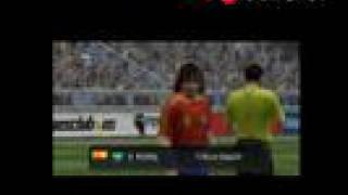 Video análisis/review Pro Evolution Soccer 2008 - PSP