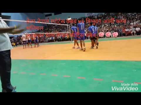 Help nepal sports club vs nepal army club volleyball
