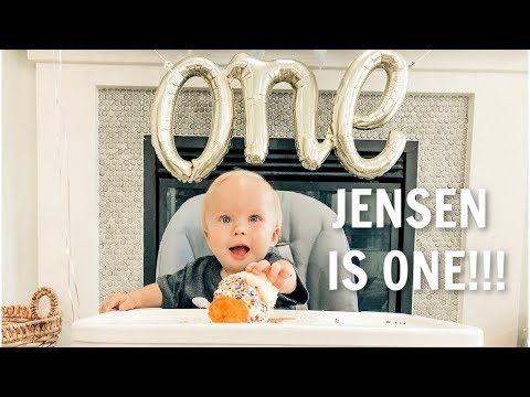 HAPPY BIRTHDAY! BABY JENSEN IS ONE! thumbnail