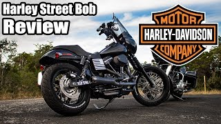 Harley Davidson Dyna Street Bob Review - 2,000 miles later