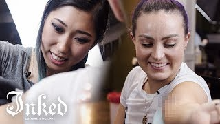 Blind & Tattooed (With Molly Burke) | INKED