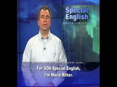 VOA learning English 2015 Part 1-Education Report-Luyện Nghe Tiếng Anh Qua Tin Tức VOA