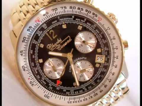 Charles Conrad Air Commander Diamond Pilots Watch CC0100G