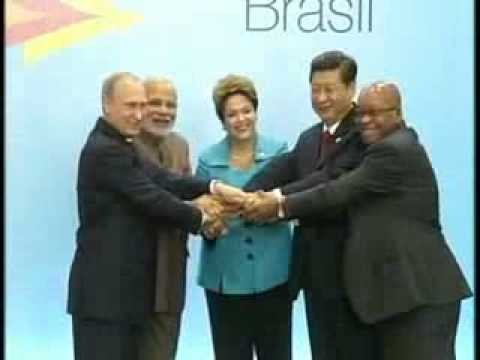 BRICS leaders at Brazil