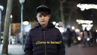 Niños hablando en italiano con Eduardo GSS