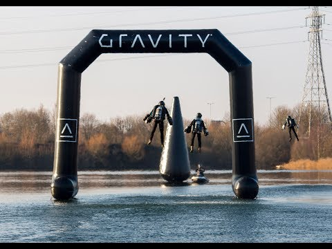 3 JET SUITS RACE AROUND LAKE COURSE - RACE SERIES TRIALS