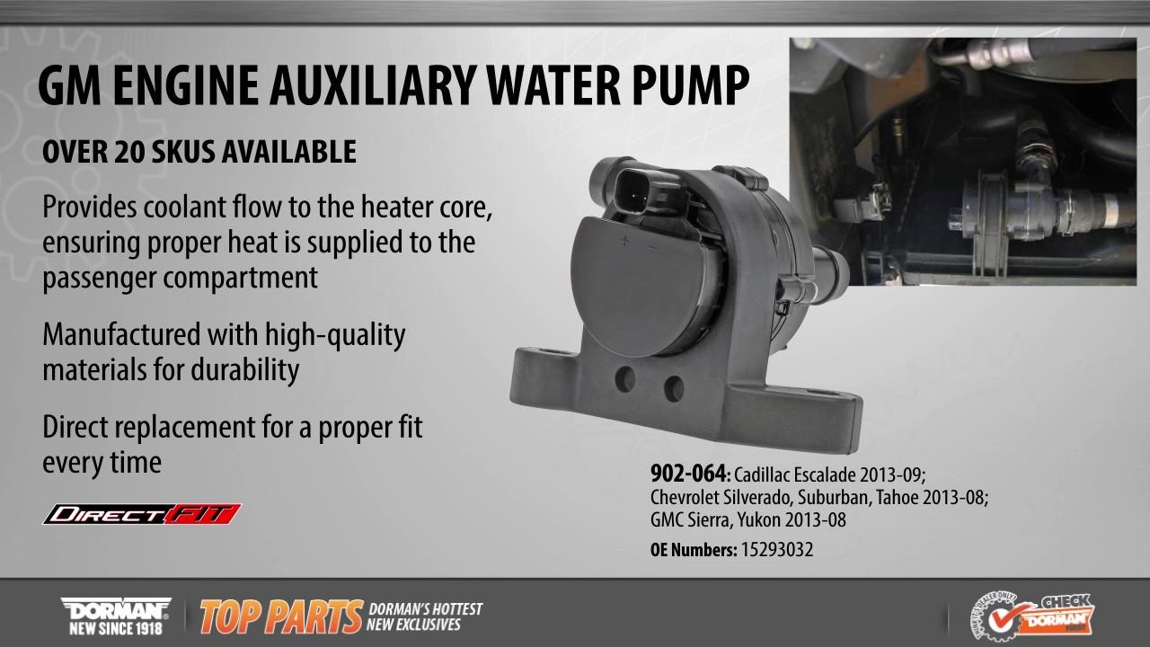 medium resolution of engine auxiliary water pump