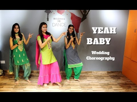 Yeah Baby | Garry Sandhu | Easy Choreography for wedding dance | Ripanpreet sidhu