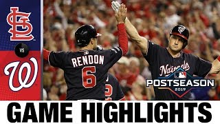 Stephen Strasburg, Howie Kendrick fuel Nats' NLCS Game 3 win | Cardinals-Nationals MLB Highlights
