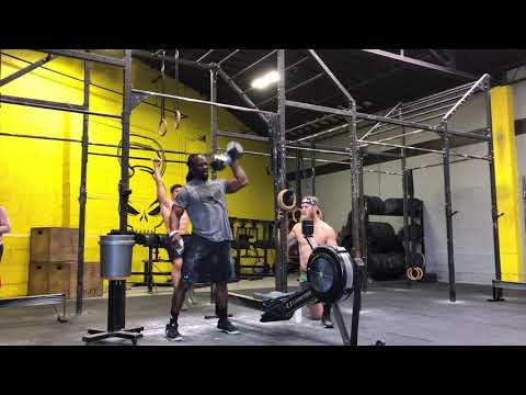 CrossFit Open 18.1 -  Charles Robinson - Masters 40-44