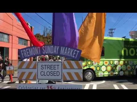 Fremont Sunday Flea Street Market.
