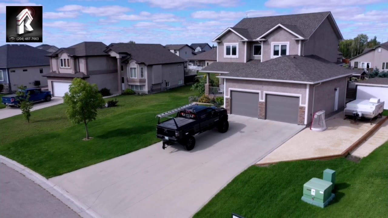 Roofco Re Roofing Home In La Salle Mb Youtube