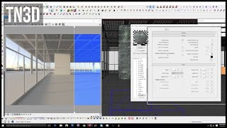 Using Override Material and Ambient Occlusion In Vray for Sketchup