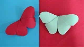 Borboleta de Cartolina – Origami