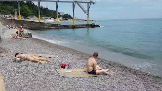 Пляжи Крыма июнь 2017. Начало сезона