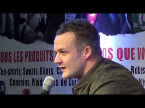 Josh Herdman  Gregory Goyle in Harry Potter saga @ Paris Manga 25 march 2017  mars