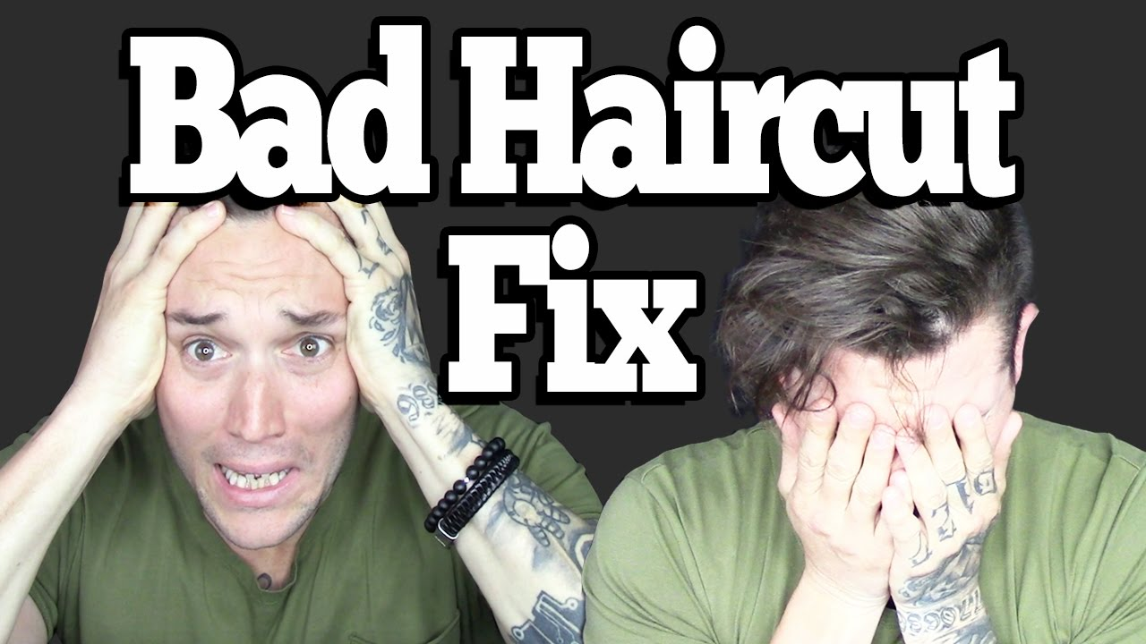 How To Fix A Bad Haircut Quickly Do This Youtube