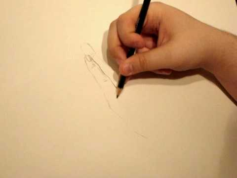 How To Draw Praying Hands Pose 1 Part 1 Youtube