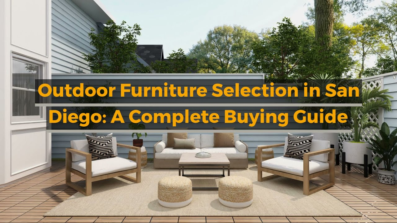 outdoor furniture selection in san