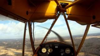 flying the j3 cub