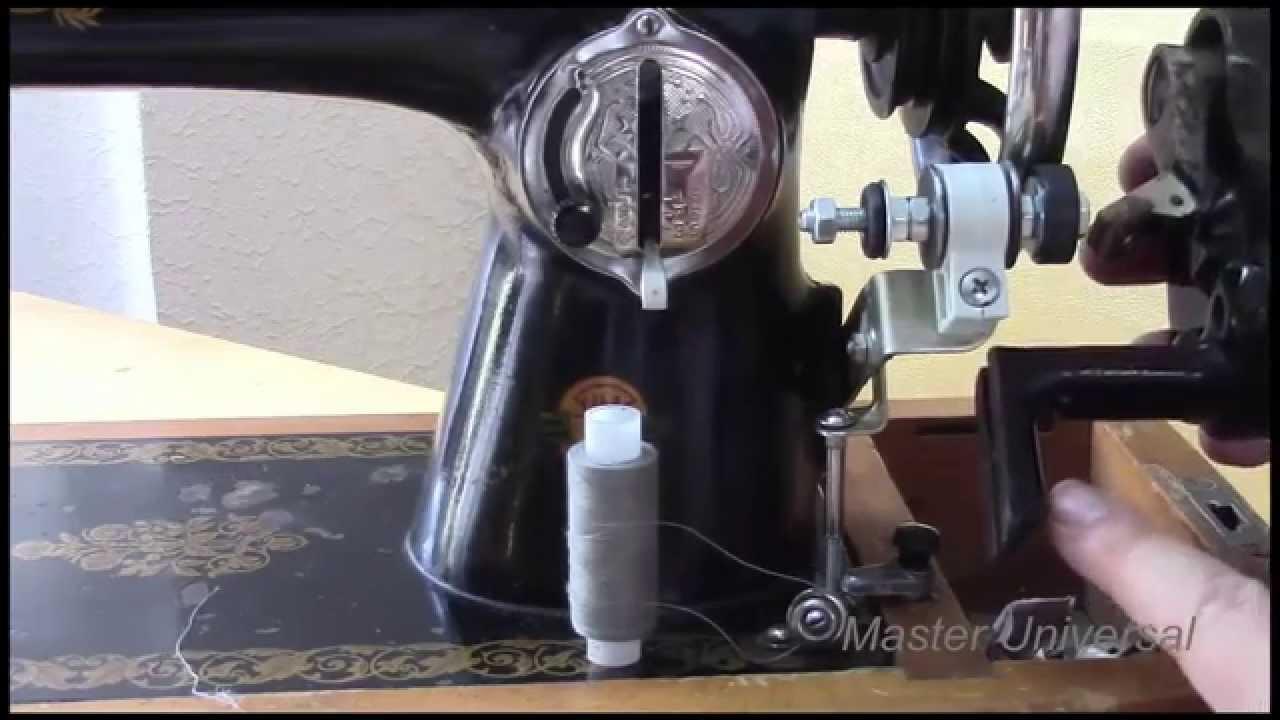 Модернизация швейной машинки - YouTube