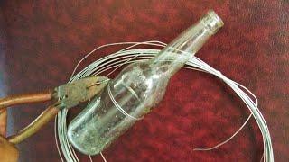 Cara Mudah Potong Botol Kaca Untuk Pot Dan Gelas