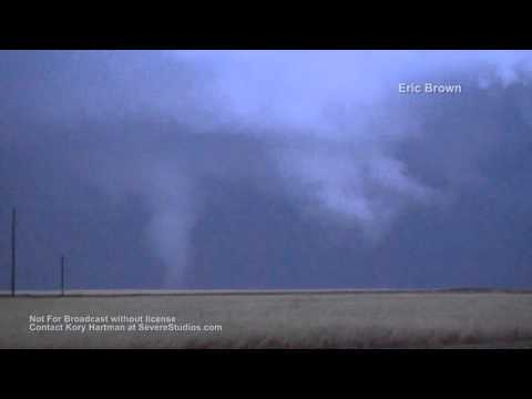 Severe Weather:  Hail & Tornadoes from TX and OK Panhandles 4-15-16