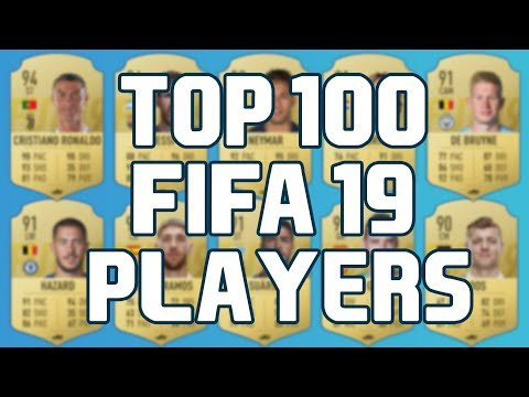 Top 100 Fifa 19 Players With The Highest Ratings
