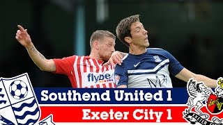 Southend 1-1 Exeter (18/10/14) - Sky Bet League 2 Highlights 2014/15