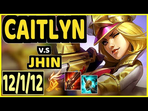 REKKLES (CAITLYN) vs JHIN - 12/1/12 KDA BOTTOM ADC CHALLENGER GAMEPLAY - EUW