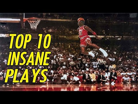 Michael Jordan 🔥 TOP 10 Best Plays In History 🔥