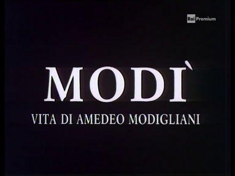 """FICTION TV  1989 MODI'  """"Vita di Amedeo Modigliani"""""""